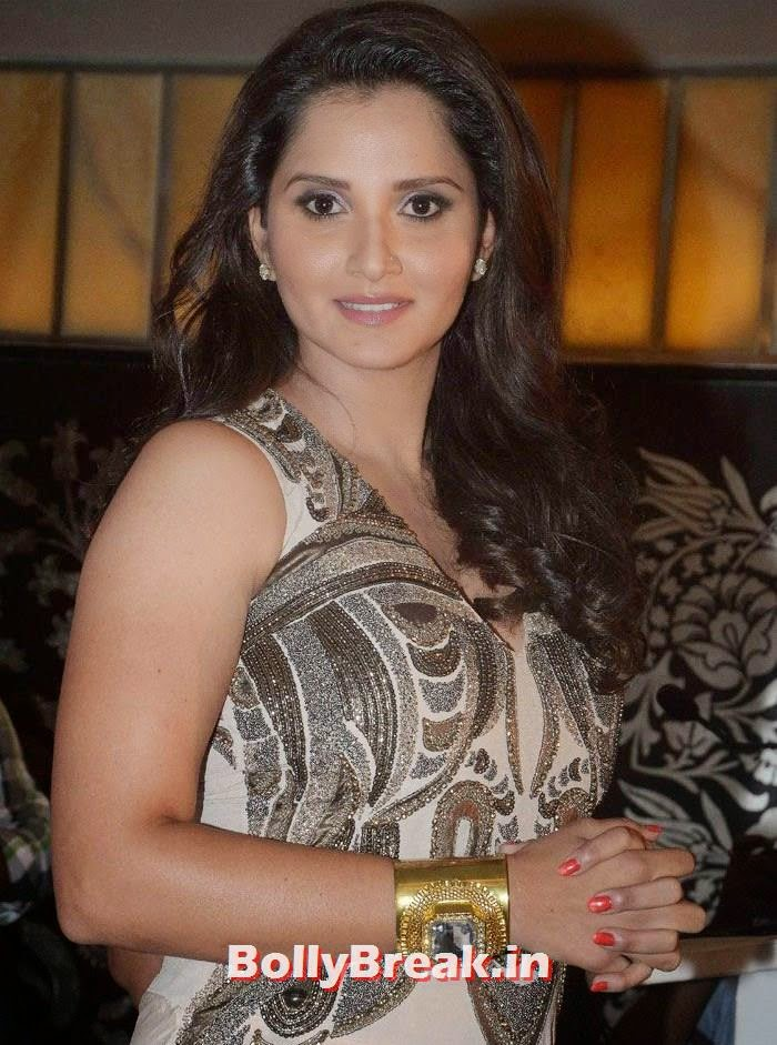 , Sania Mirza in Hot Dress Launches The PIX School of BONDing