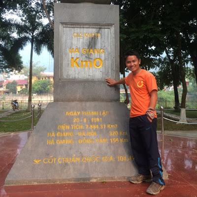 Cột mốc số 0, tp Hà Giang
