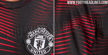 be05ba6f1 Stunning Manchester United 2019 Pre-Match Shirt Released