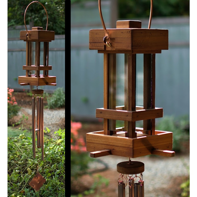 Coast Chimes deluxe bird feeder wind chime