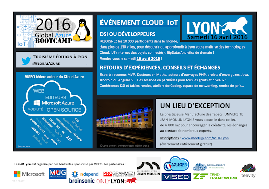 Global Azure Bootcamp 2016 Lyon : IoT, Open Source and Cloud Azure
