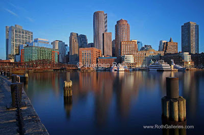 Boston Skyline photos
