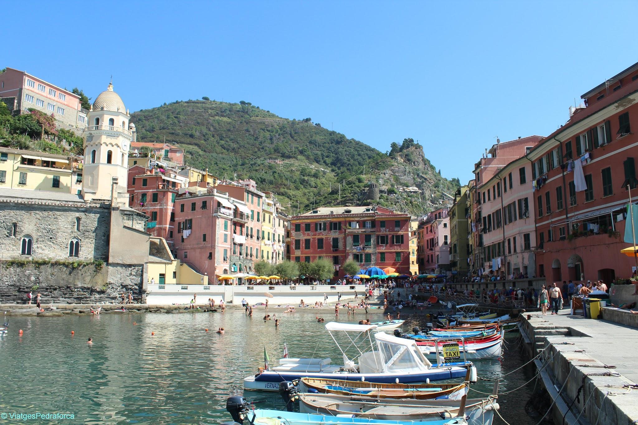 Vernazza, Cinque Terre, Italia, Unesco World Heritage, Patrimoni de la Humanitat, Sentiero Azzurro