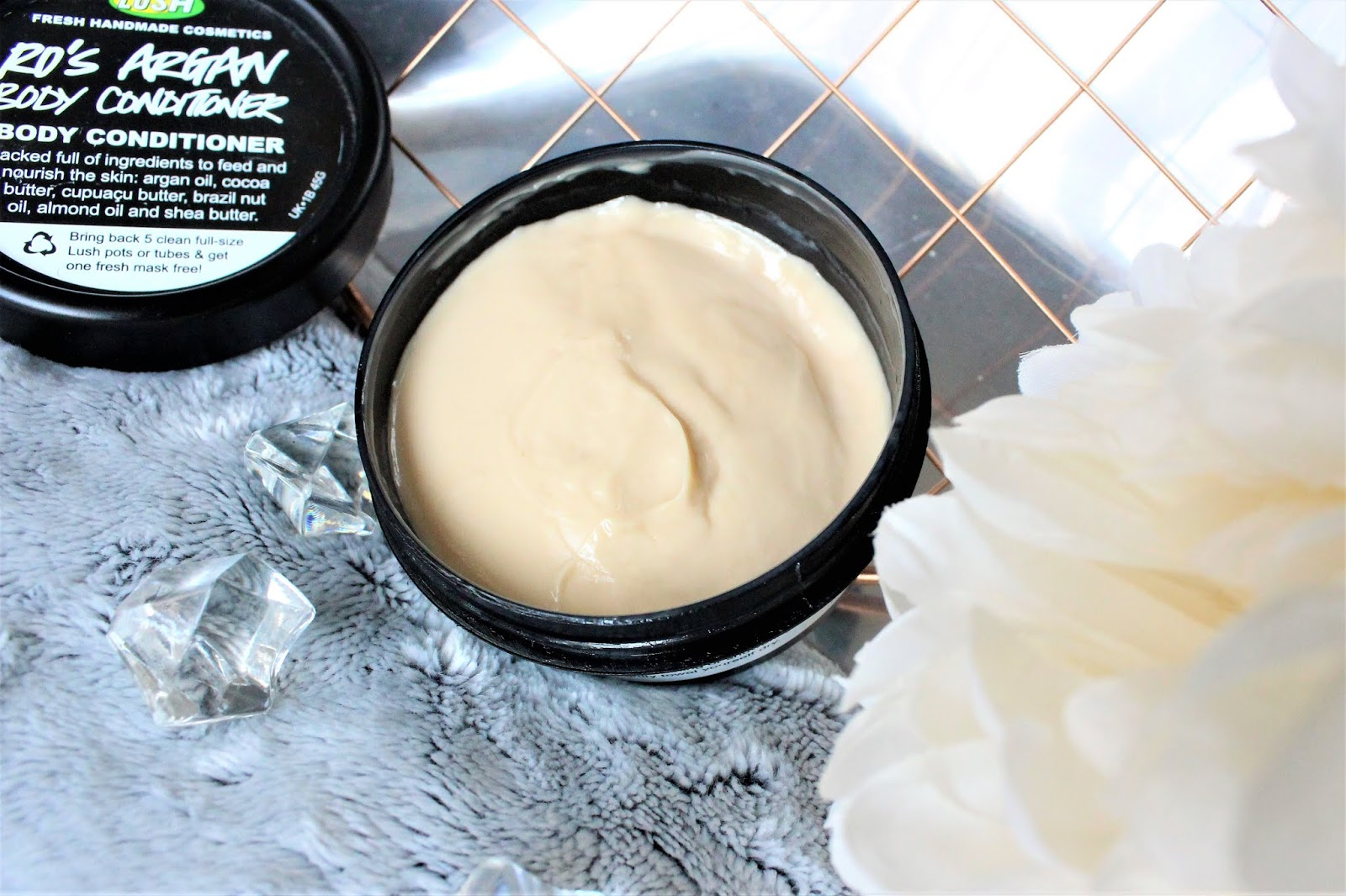 lush argan body conditioner review
