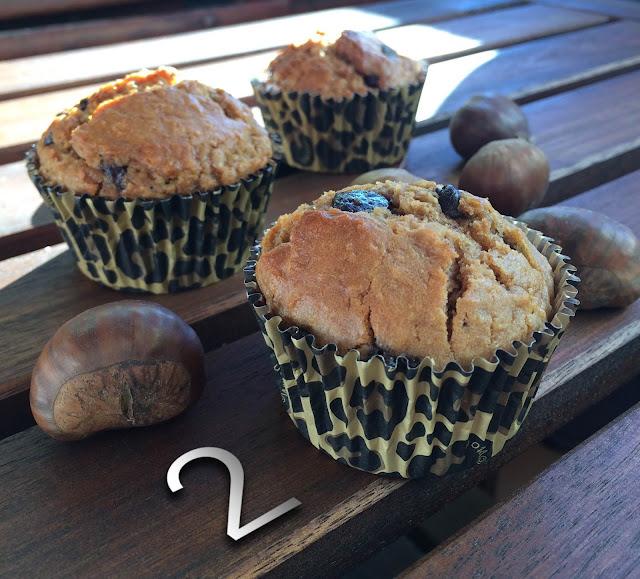 muffins-castañas