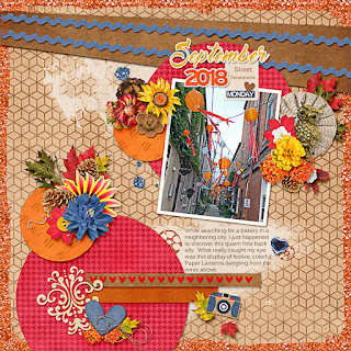 Ginger Scraps September 2018 Brush Challenge and Freebie and 360Life All About October Collection by Aimee Harrison