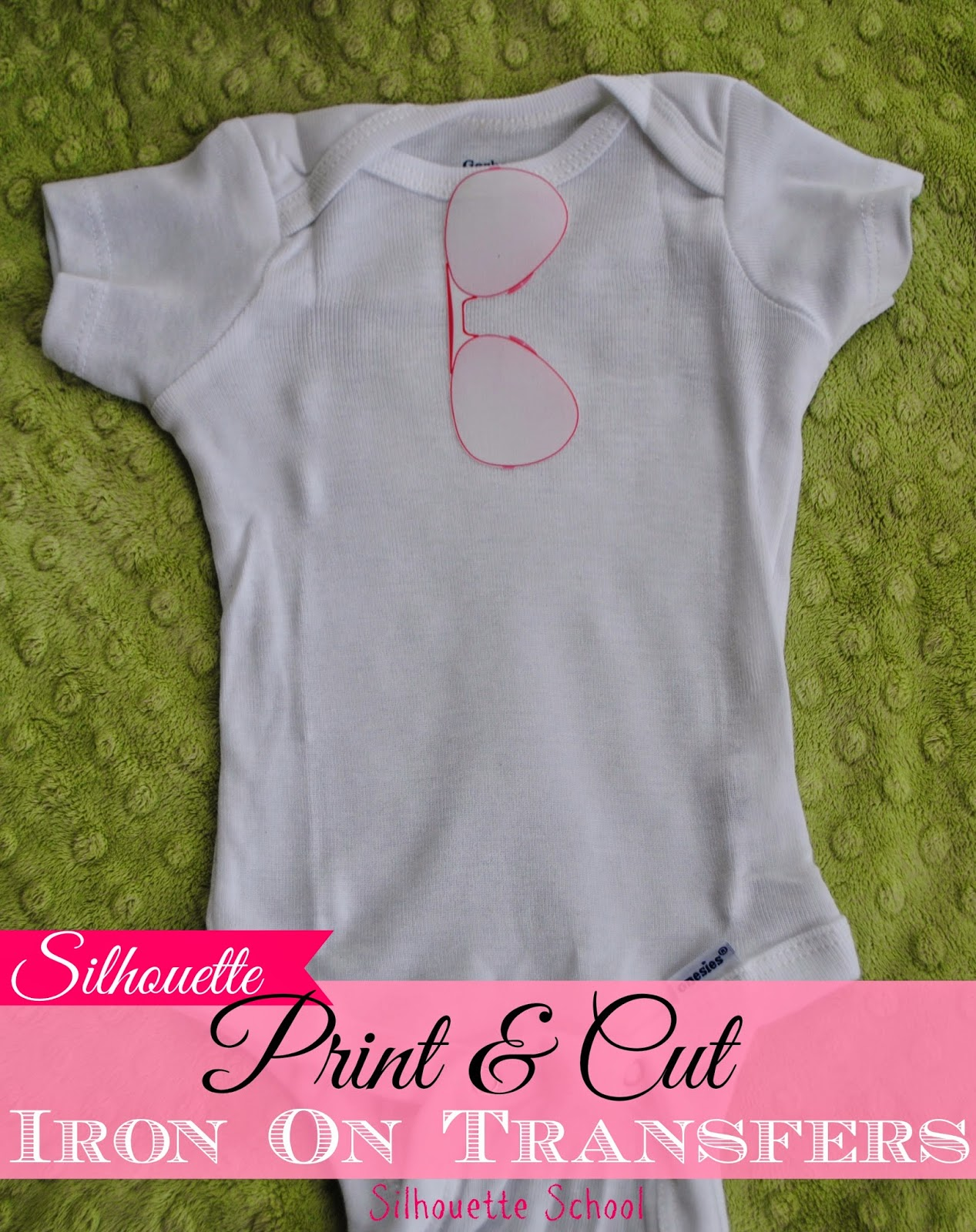Silhouette, print and cut, heat transfer, iron on, Silhouette tutorial
