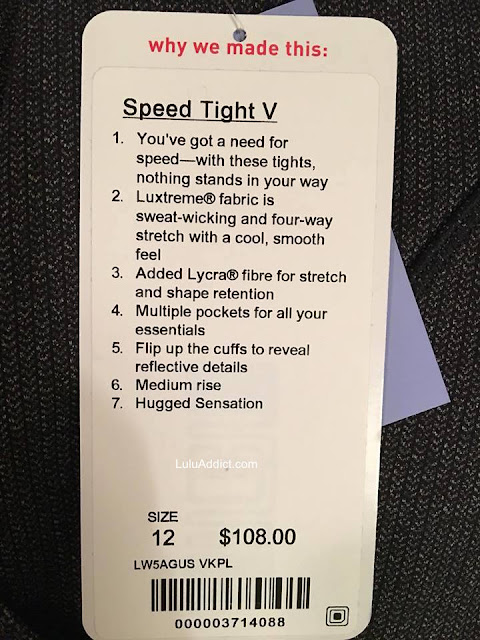 lululemon speed-tight