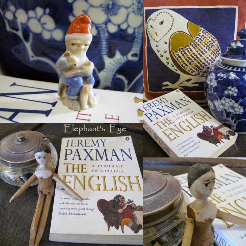 Jeremy Paxman - The English with Cornish pixie and Dutch doll