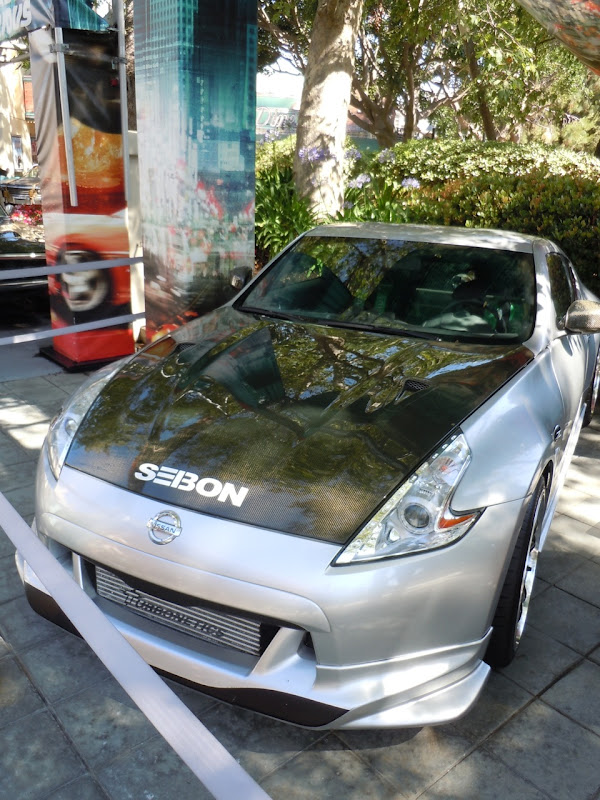 Fast Five Paul Walker's Nissan 370z car