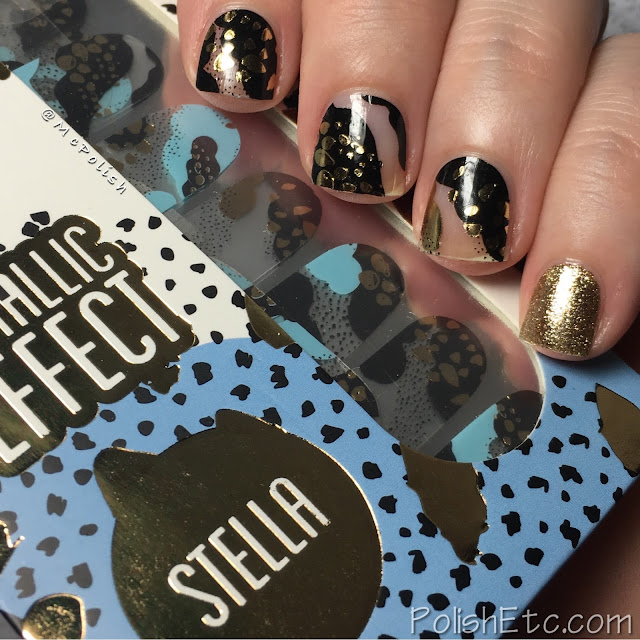 Inspired by Art for the #31DC2017Weekly - McPolish - ThumbsUp Nails Stella