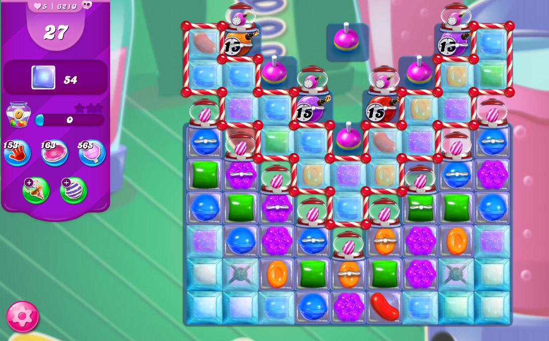 Candy Crush Saga level 6210
