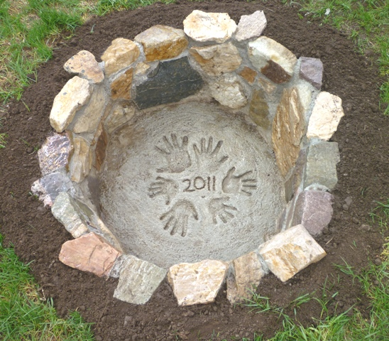 In Ground Firepit: Sharpe Creations: The Fire Pit