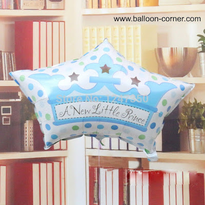 Balon Foil Mahkota A New Little Prince