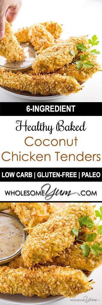 Baked Coconut Chicken Tenders