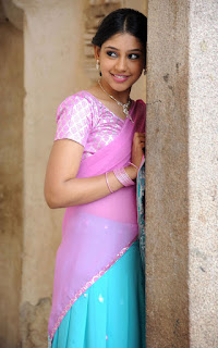 Neethi Taylor in half saree