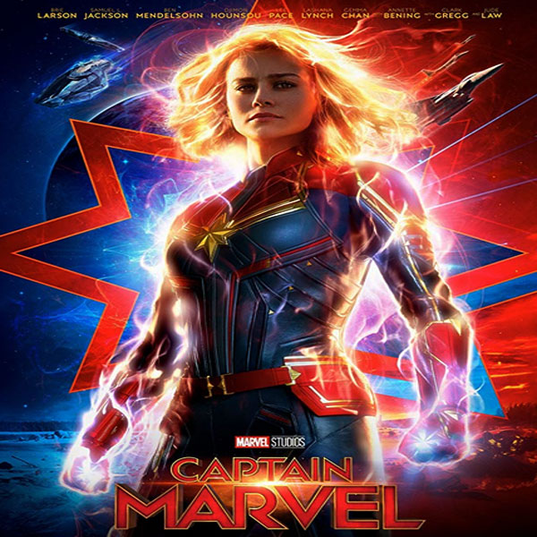 Captain Marvel, Film Captain Marvel, Trailer Captain Marvel, Review Captain Marvel, Dwonload Poster Captain Marvel