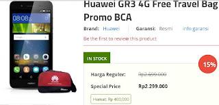 Promo Huawei GR3