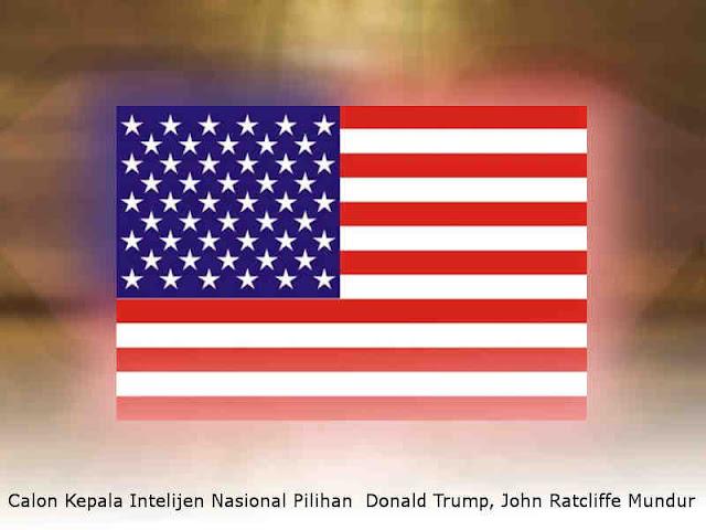Calon Kepala Intelijen Nasional Pilihan  Donald Trump, John Ratcliffe Mundur