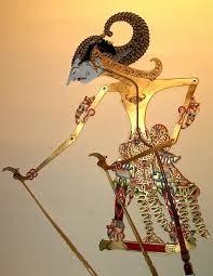Gambar Wayang Arjuna SI Bungsu Pandawa Lima Jelmaan Dewa Perang Indra