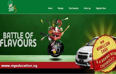 Knorr Taste Quest Season 5 Application Form | How to Participate