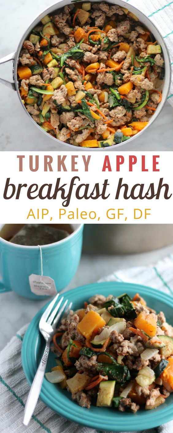 TURKEY APPLE BREAKFAST HASH (AIP)