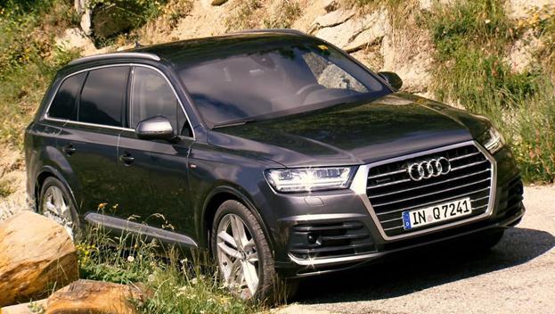 Audi Q7 sang trọng và mềm mại trong thiết kế