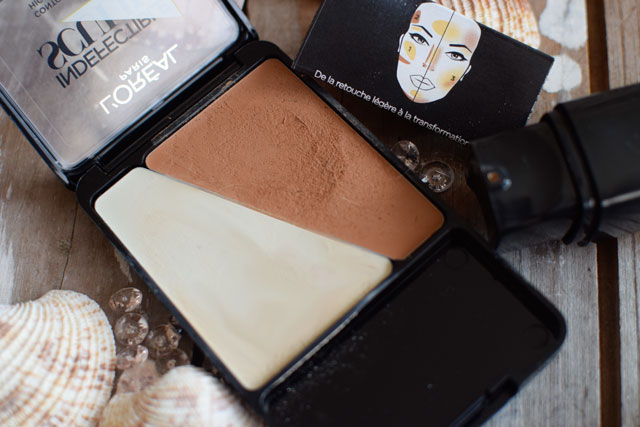 L'Oréal Indefectible Sculpt, Palette, offen