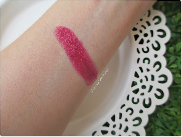 MAC - Labial Mineralize Rich Lush Life - Swatch