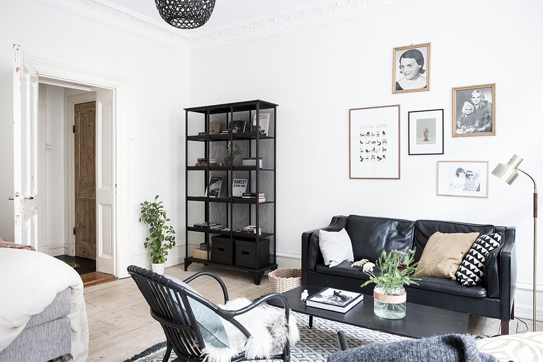 skórzana sofa IKEA