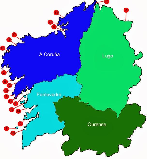 El Blog De Viajes De Oswaldoces Las 20 Mejores Playas De Galicia
