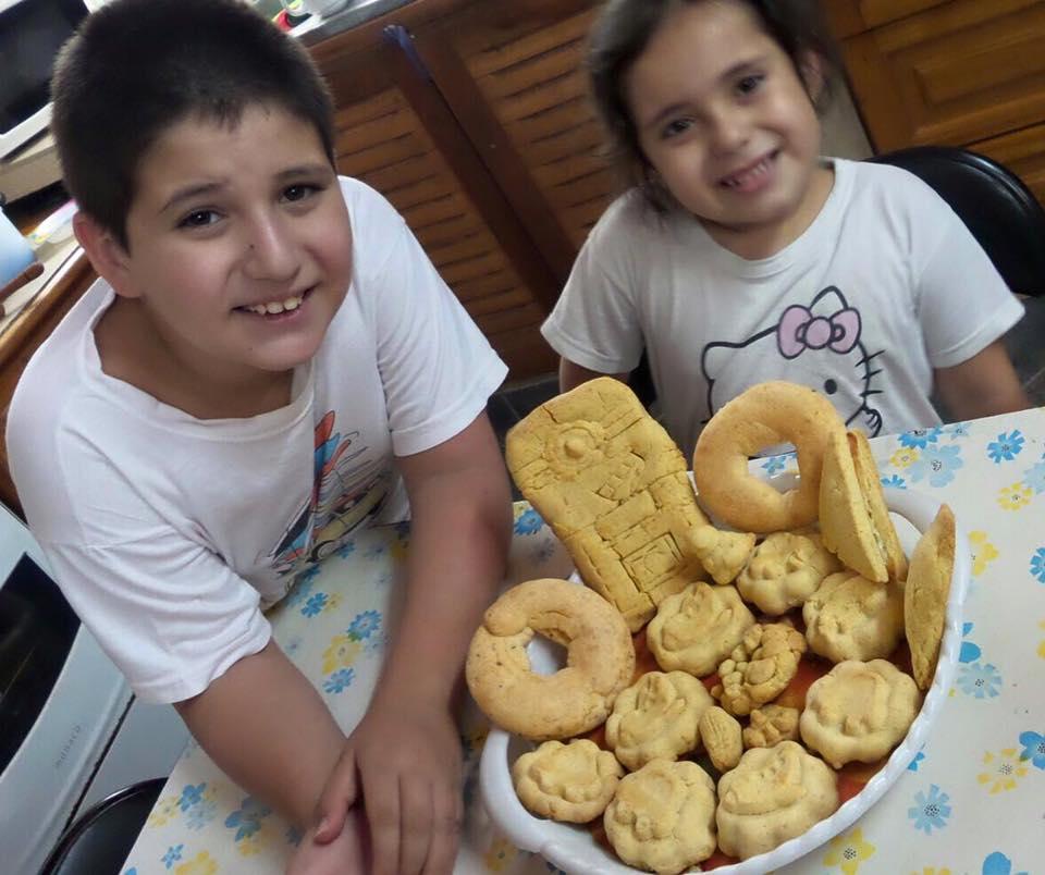 Chipa paraguaya formas niños
