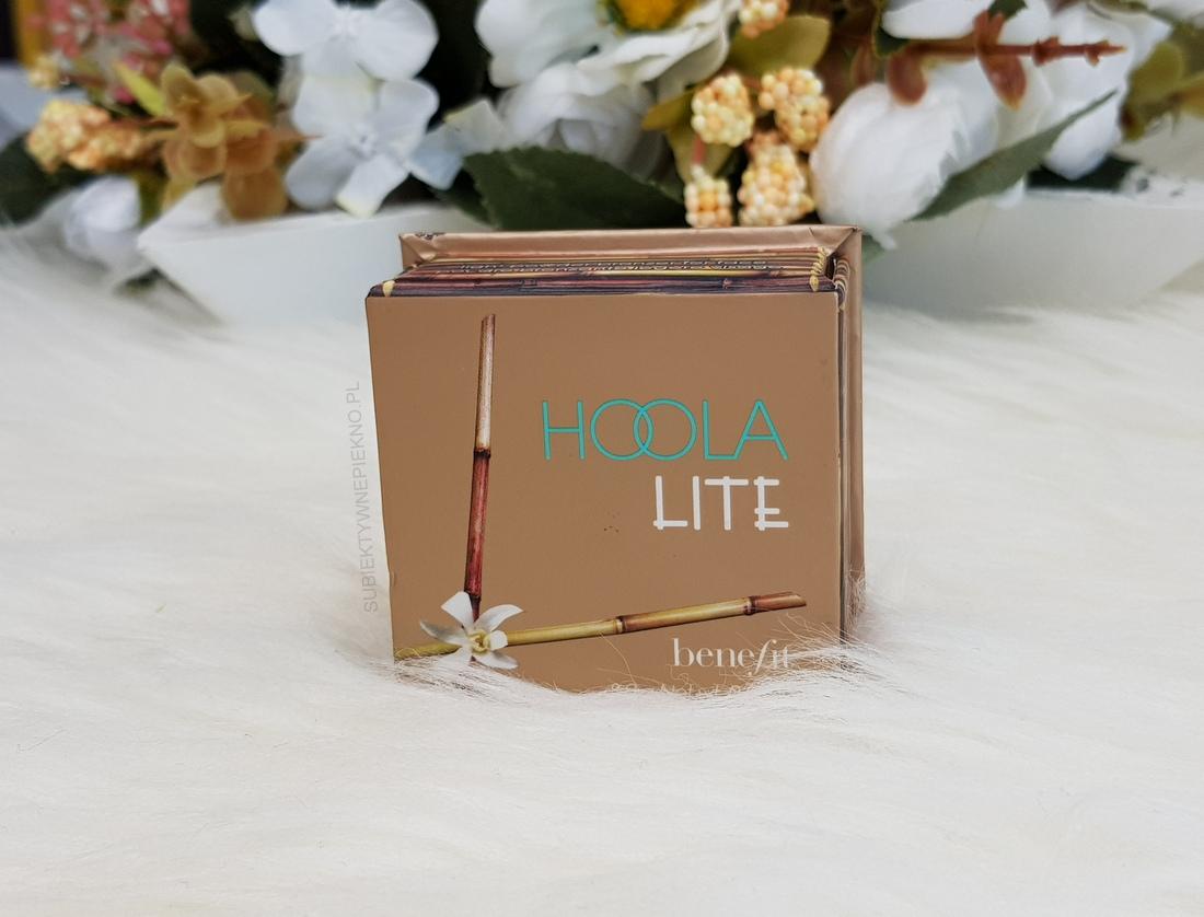 ULUBIEŃCY LIPIEC 2018 - bronzer Hoola Lite Benefit