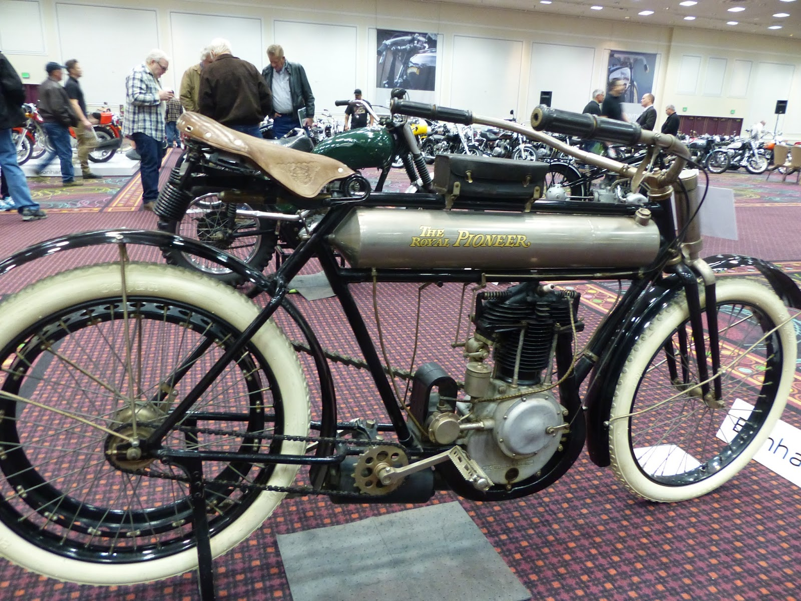Oldmotodude 1910 royal pioneer 30 5 single sold for for Ebay motors las vegas