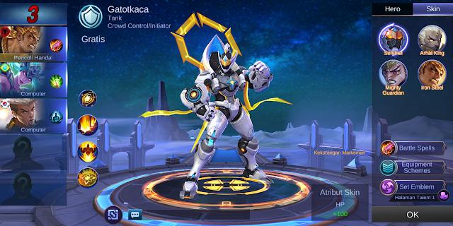 Gatotkaca : Sentinel