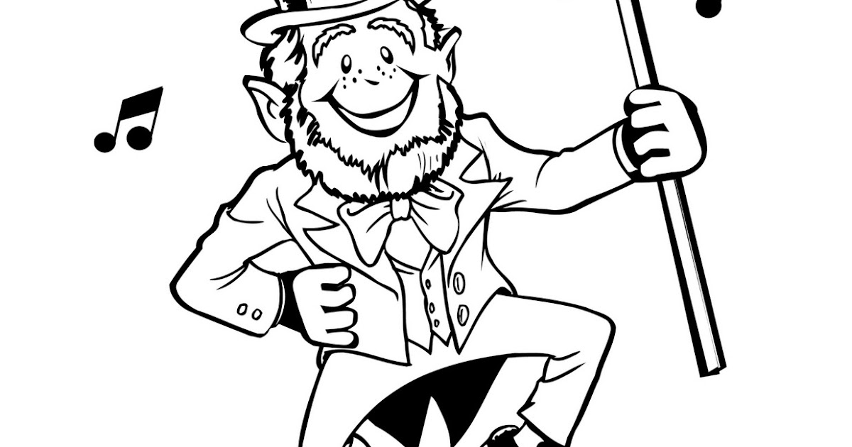 Great Harvest Bread Co: St Patrick's Day Kids Coloring Page