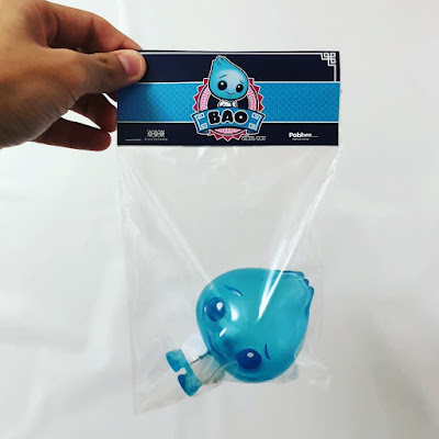 Breaking Bad Inspired Little Bao Blue Vinyl Figure by Scott Tolleson x Pobber