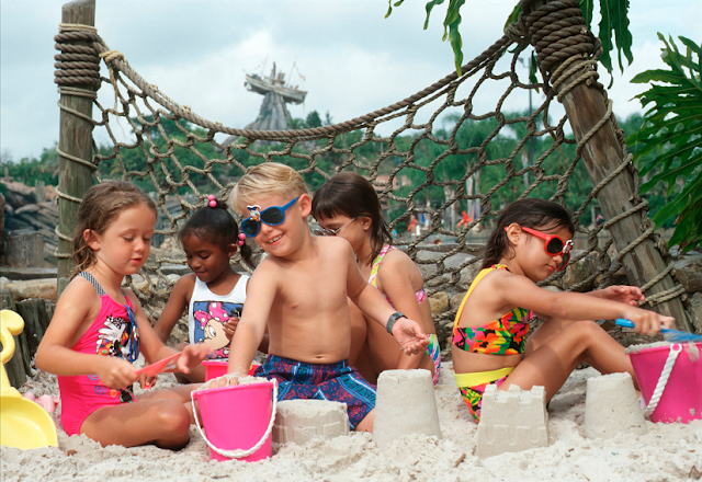 Ketchakiddee Creek no Typhoon Lagoon na Disney