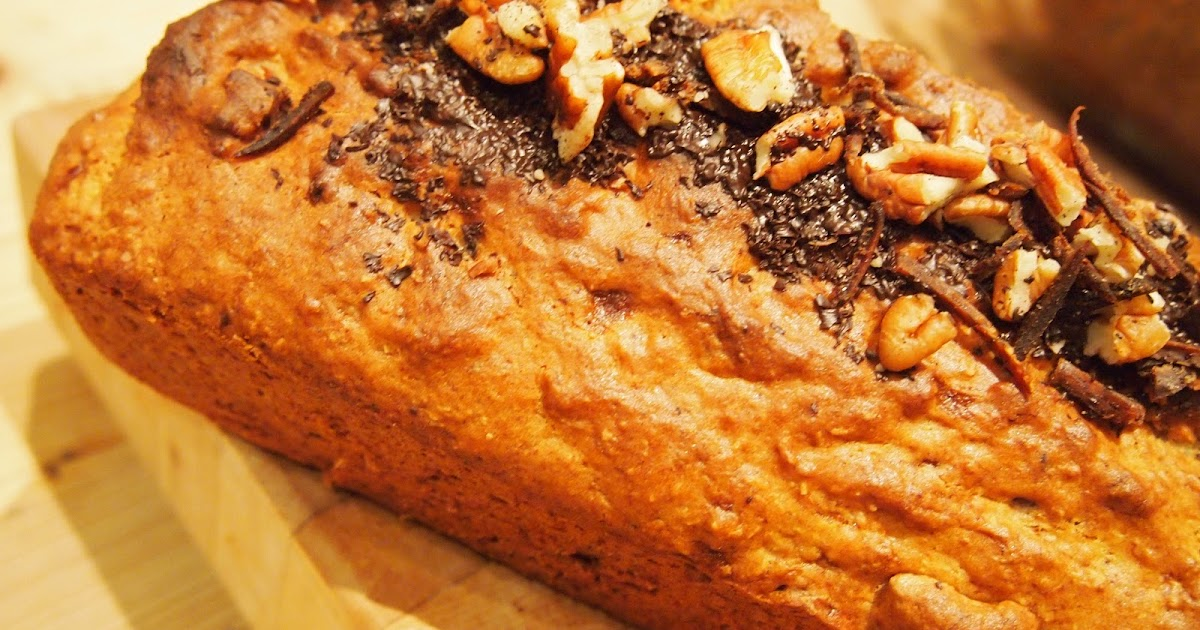 Epicurious Banana Bread With Chocolate Chips And Walnuts