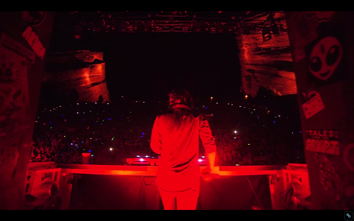Skrillex Live at Red Rocks 2014