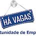 Relação de vagas de Emprego / dia 07/06/2016