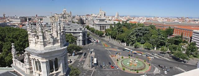 Palacio de Cibeles - De Madrid al Cielo