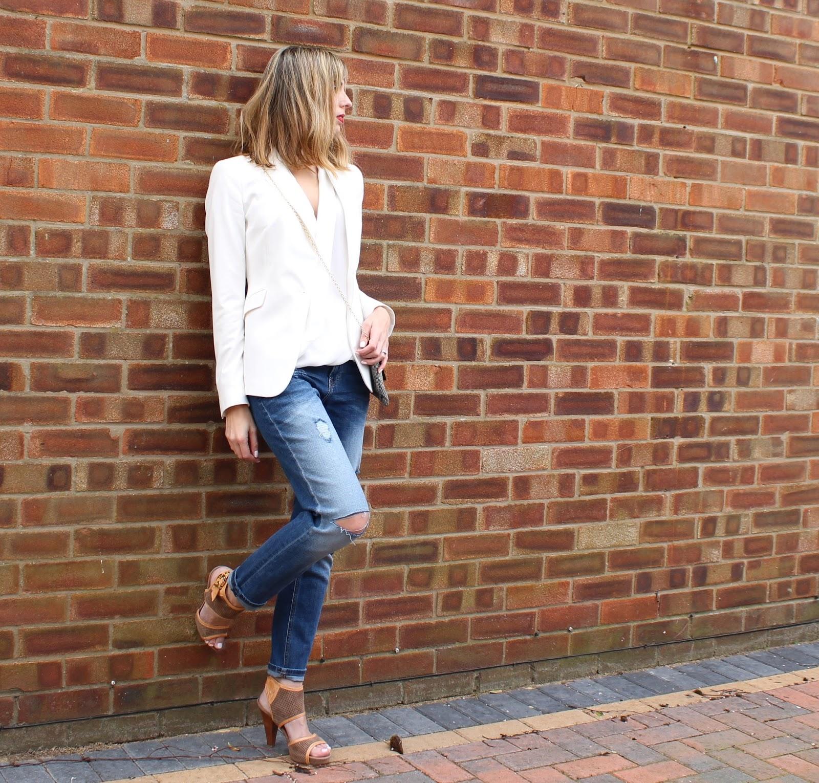 OOTD - H&M Girlfriend Jeans, Smart