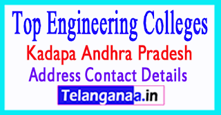 Top Engineering Colleges in Kadapa District Andhra Pradesh