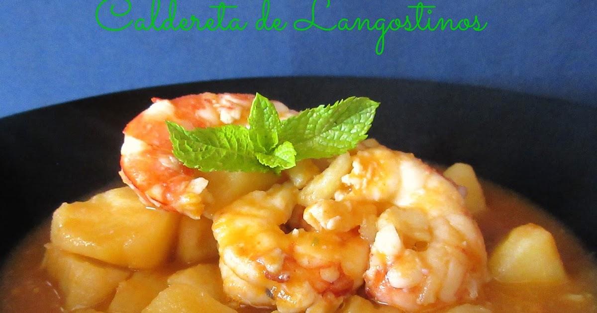 Caldereta de langostinos cocina con reina - Caldereta de langostinos ...