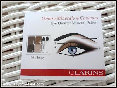 Clarins Eye Quartet Mineral Palette - Odyssey