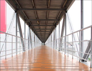 Sky walk/ walk way di Pabrik Ajinomoto Karawang