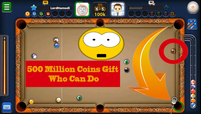 8 ball pool free coins gift