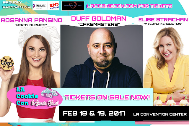 Feb. 18 - 19 | LA Cookie Con and Sweets Show is Back and Bigger Than Ever!