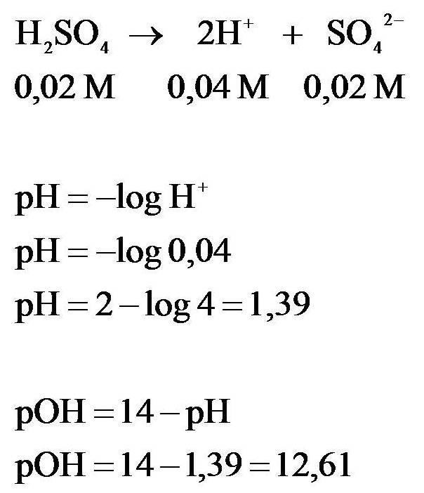 Cara Menghitung pH Larutan Asam, Basa, Garam Beserta ...